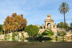 Parc de la Ciutadella, Barcelona, Espanha imagem de stock royalty free