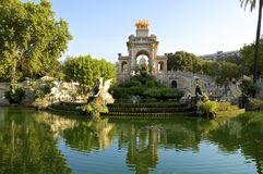 The Parc de la Ciutadella in Barcelona Stock Photography