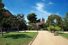 Parc de la Ciutadella Stock Photography