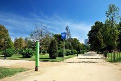 Parc de la Ciutadella. Barcelona, Spain Stock Photos