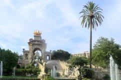 Parc de la Ciutadella Royalty Free Stock Photo