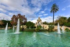 Parc de la Ciutadella - Barcelona, Spain Royalty Free Stock Images