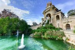 Parc de la Ciutadella - Barcelona, Spain Stock Image