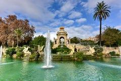 Parc de la Ciutadella - Barcelona, Spain Royalty Free Stock Image
