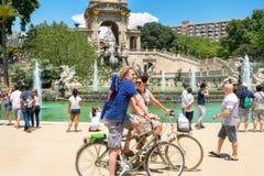 Parc de la Ciutadella. Barcelona, Spain Royalty Free Stock Images