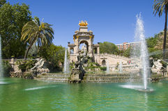 Parc de la Ciutadella in Barcelona Stock Photos