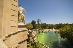 Parc de la Ciutadella in Barcelona Stock Photography