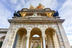 Parc de la Ciutadella - Barcelona, Spain Royalty Free Stock Photo