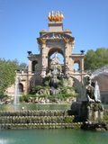 Parc de la Ciutadella, Barcelone Photo libre de droits