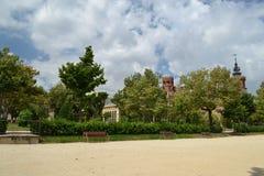 Parc de la Ciutadella, Barcelone Photographie stock libre de droits