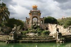 Parc de la Ciutadella Barcelone Image stock