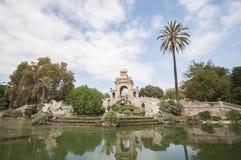 Parc de la Ciutadella, Barcelone, Catalogne, Espagne, l'Europe, septembre 2016 Image stock