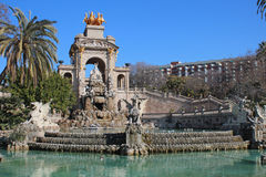 Parc de la Ciutadella (Ciutadella Park) Royalty Free Stock Photo