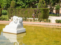 Parc de la Ciutadella Stock Photo