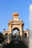 Parc de la Ciutadella park fountain in Barcelona Royalty Free Stock Photo