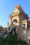 Parc de la Ciutadella park fountain in Barcelona Stock Image