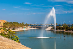 Parc DE La Mar, Palma de Mallorca Royalty-vrije Stock Afbeelding