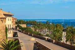 Parc de la Mar, Palma de Mallorca Royalty Free Stock Photo