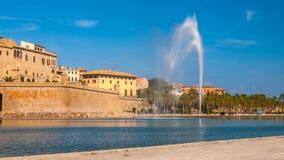Parc de la Mar, Palma de Mallorca Stock Photos