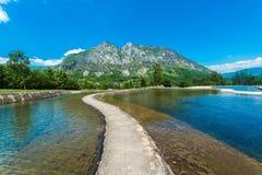 Parc de la Prehistoire dans Midi-Pyrénées, France Photos libres de droits