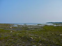 Parc de la Reine Elizabeth Mnido Mnising Natural Environment, île de Manitoulin Images libres de droits