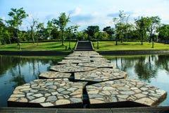 Parc de la Reine Sitikit en Thaïlande Images stock