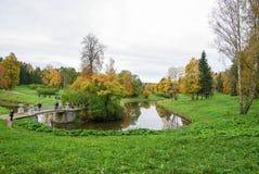 Parc de la Russie St Petersburg Pavlovskiy images libres de droits