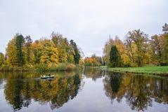 Parc de la Russie St Petersburg Pavlovskiy photographie stock