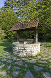 Parc de la Tête d'Or. Wishing Well located within the Parc de la Tête d'Or; one of Lyon's largest urban parks Royalty Free Stock Photo