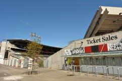 Parc de ligue de rugby de Christchurch - Nouvelle-Zélande Image libre de droits