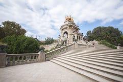 Parc De Los angeles Ciutadella, Barcelona, Catalonia, Hiszpania, Europa, Wrzesień 2016 Fotografia Stock