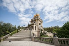 Parc De Los angeles Ciutadella, Barcelona, Catalonia, Hiszpania, Europa, Wrzesień 2016 Obrazy Royalty Free