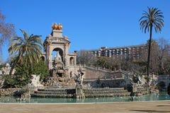 Parc De Los angeles Ciutadella (Ciutadella park) Obrazy Royalty Free