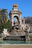 Parc De Los angeles Ciutadella (Ciutadella park) Zdjęcie Stock