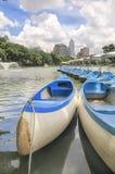 Parc de Lumphini à Bangkok, Thaïlande Image libre de droits