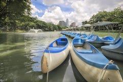 Parc de Lumphini à Bangkok, Thaïlande Photographie stock libre de droits