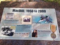 Parc de MacDill images libres de droits
