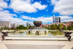 Parc de millénaire de Kazan Photographie stock libre de droits