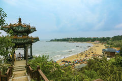 Parc de nid de colombe, Beidaihe, Chine Images libres de droits