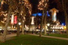 Parc de Noël Image libre de droits