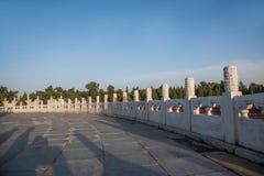 Parc de Pékin le temple du Ciel Images libres de droits