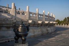 Parc de Pékin le temple du Ciel Images stock