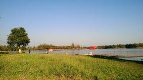 Parc de pêche images libres de droits