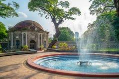 Parc de Paco, Cementerio General de Dilao, à Manille images libres de droits