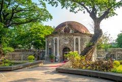 Parc de Paco, Cementerio General de Dilao, à Manille images stock