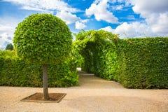 Parc de palais de Rundale Images libres de droits