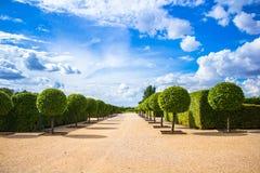 Parc de palais de Rundale Photo stock