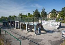 Parc de panneau de patin Photos libres de droits