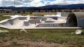 Parc de patin Photos libres de droits