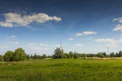 Parc de paysage de Suwalki en Pologne Photos libres de droits